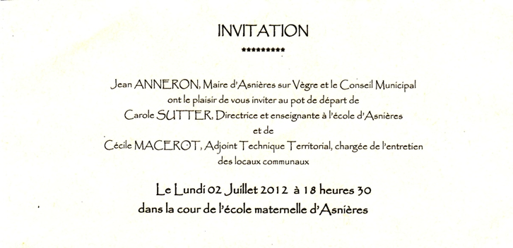 invitation pot de depart demission 28 images 10 invitation pot de depart faireune lettre