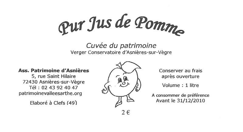 Assez par Pierre Sternberger - Le jus de pomme 2009 est arrivé !!! KT09